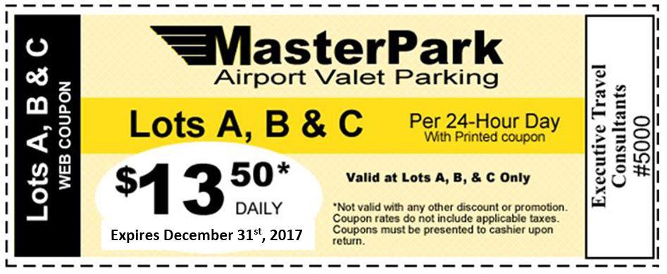 Master Park Coupon